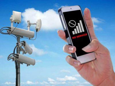 Mobile Signal Drops