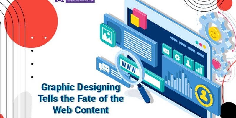 Graphic Designing Tells the Fate of the Web Content