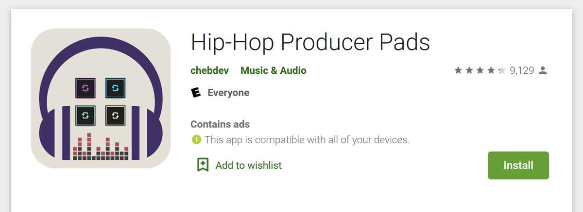 Hip-hop producer pads