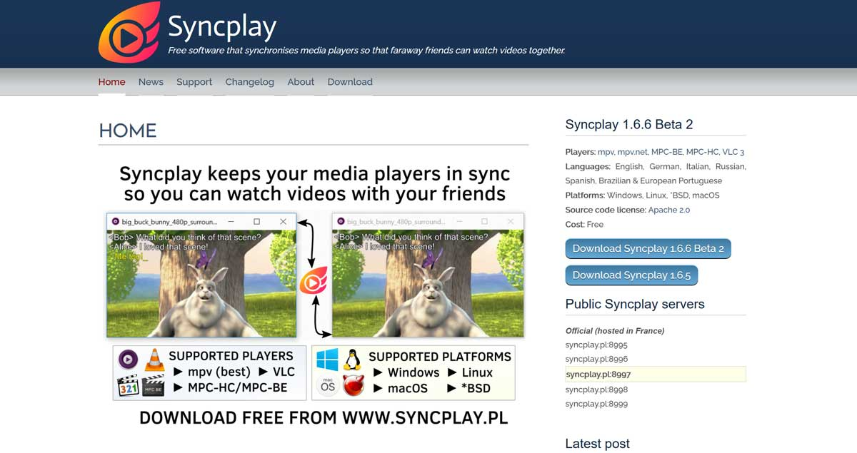 Rabbit Alternatives 09: Syncplay