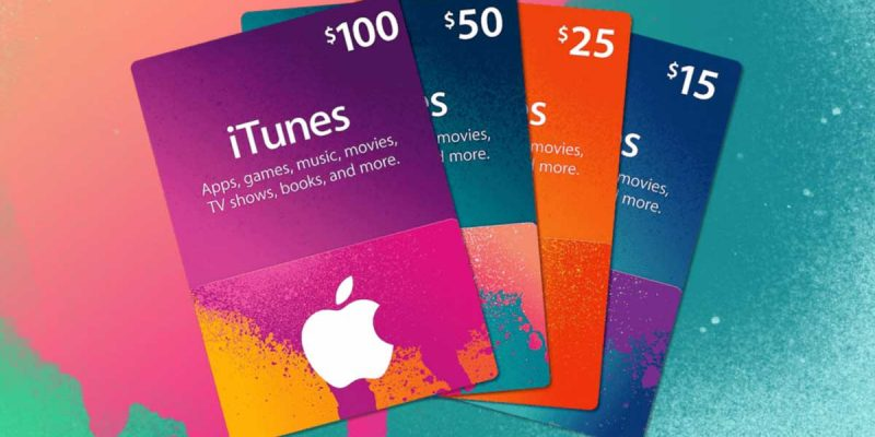 iTunes Gift Card Codes