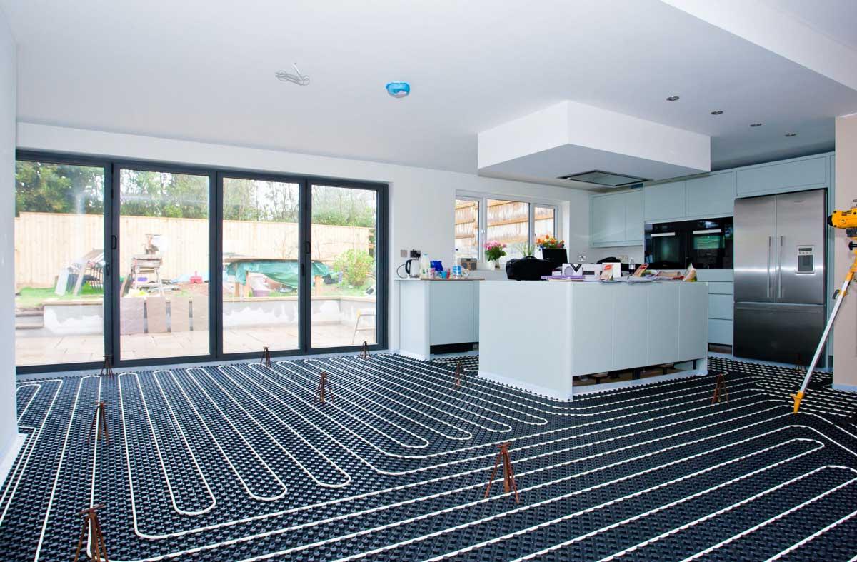 Right Flooring for Underfloor Heating