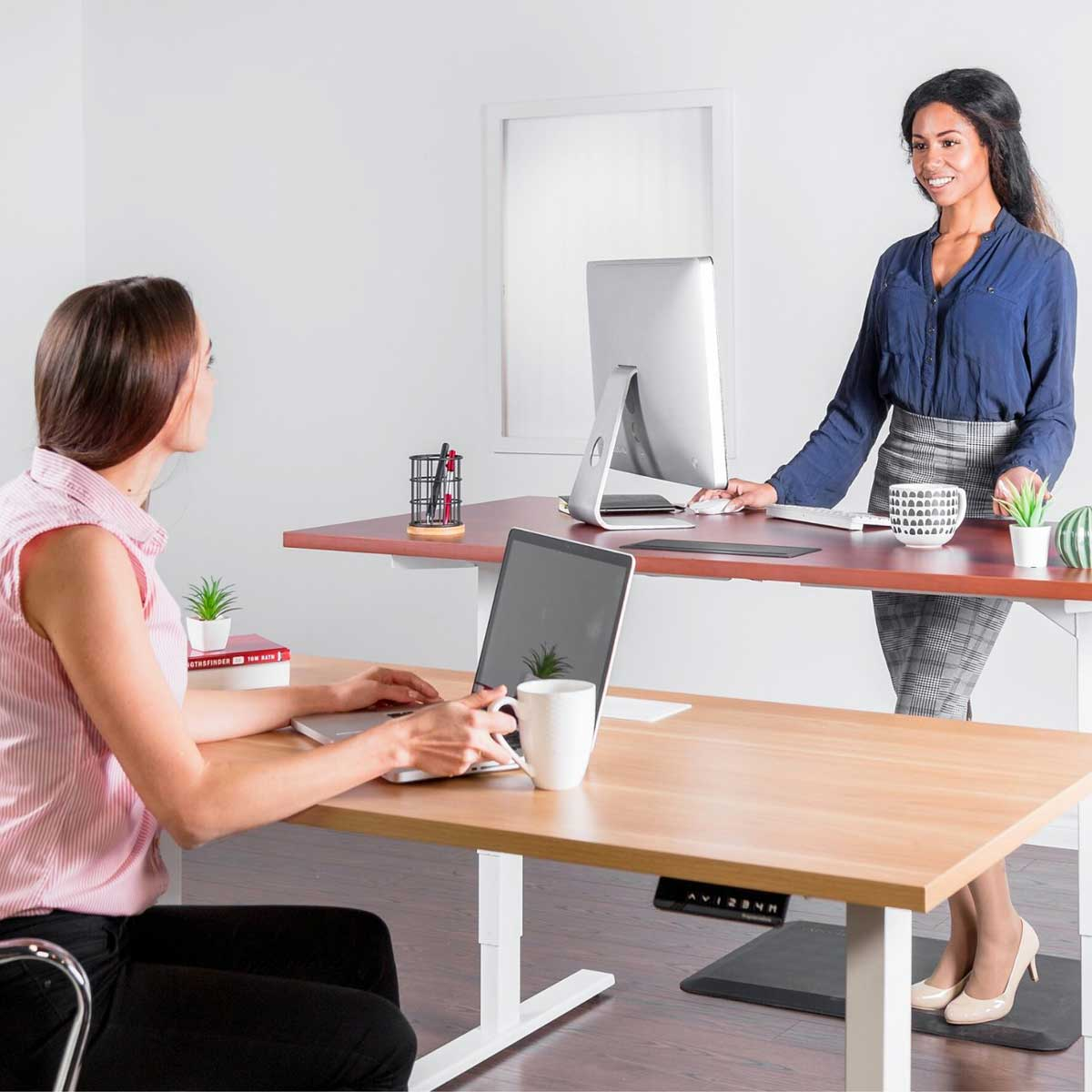 The Desk That Gets You Moving