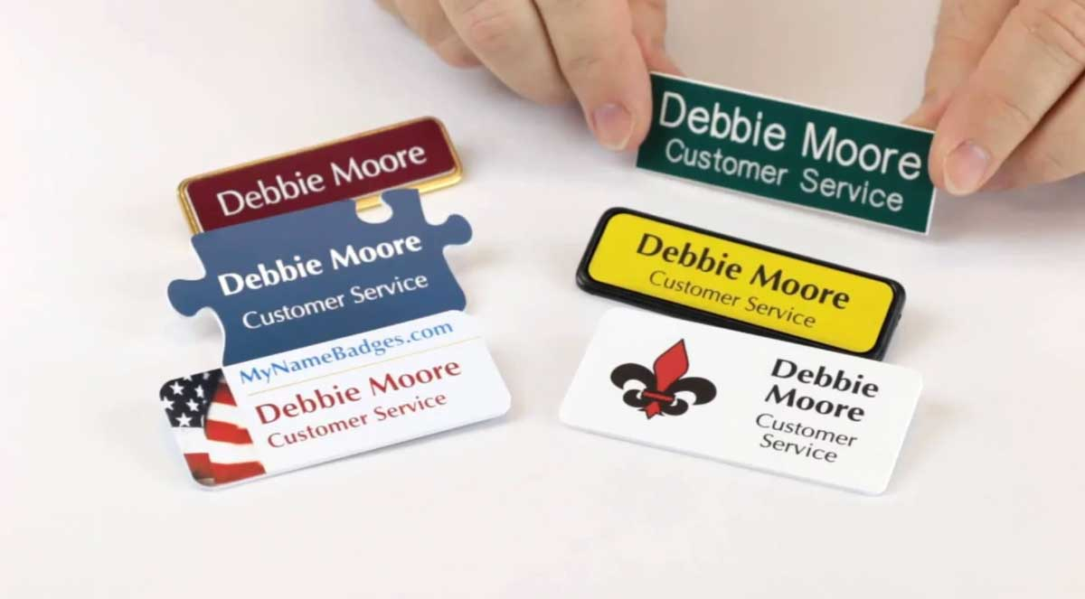 Name Badges Can Upgrade Your Brand