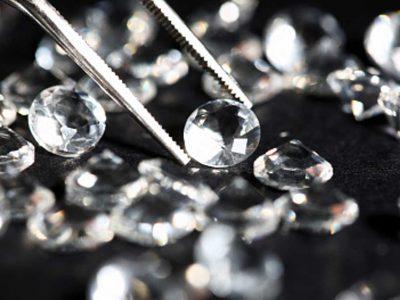 While Selling Loose Diamonds