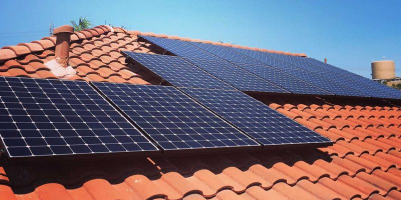 Solar Panel Installation in a New Home