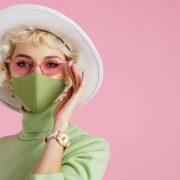 face mask trendy fashion