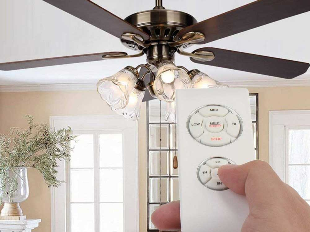 Remote-Controlled Ceiling Fans