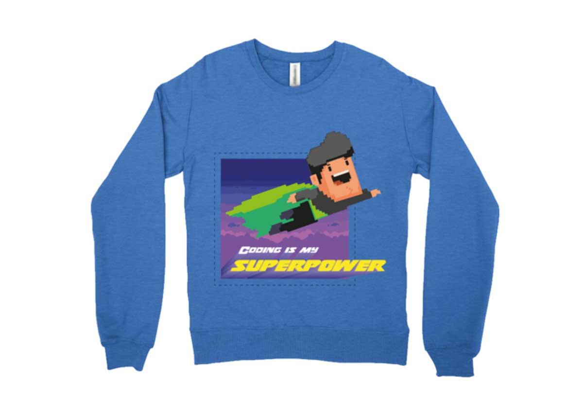 Go In Style With a Sleek Sweatshirt