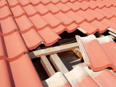 Roof Damage Claim