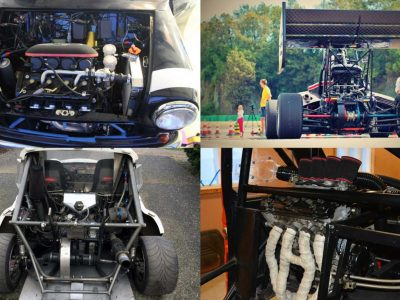 build a car with a motorcycle engine
